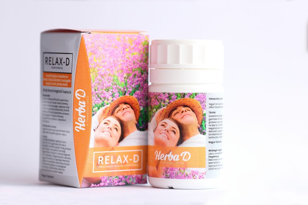 Relax-D étrend-kiegészítő kapszula 30db HerbaD