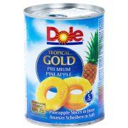 Ananászbefőtt körszeletes 567g Dole