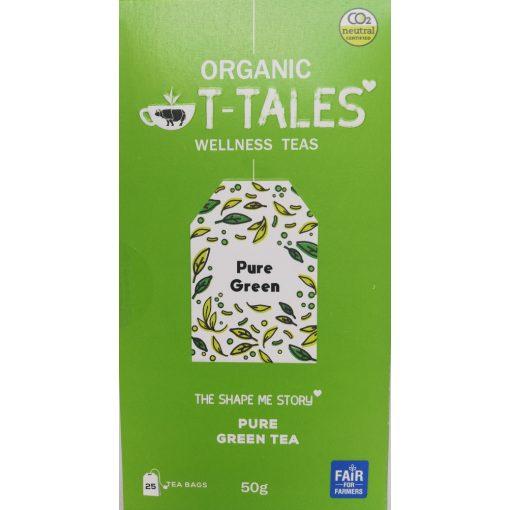 Pure filteres zöld tea T-Tales Organic 25x2g