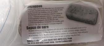 Sószappan 320g Parajdi