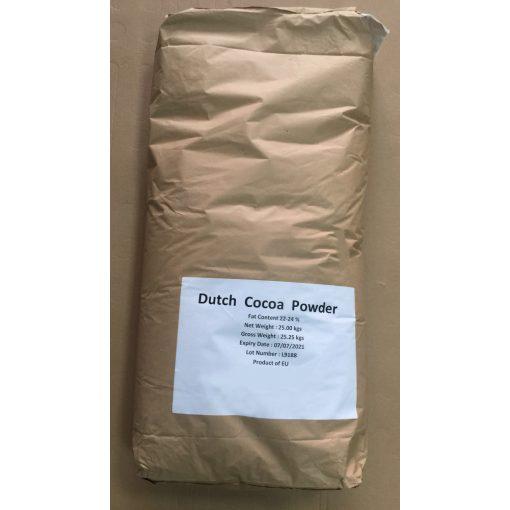 Kakaópor 22-24% holland 25kg lédig