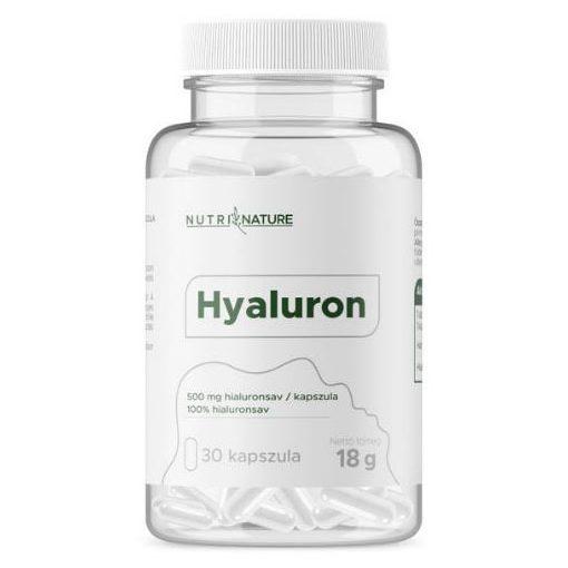 Hyaluron 500mg kapszula Nutri Nature
