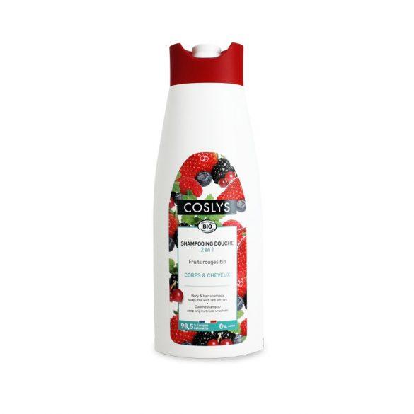 Tusfürdő és sampon erdei gyümölcsös 750ml Coslys