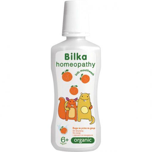 Homeopátiás 6+ gyermek szájvíz 250ml mandarin ízesítéssel Bilka