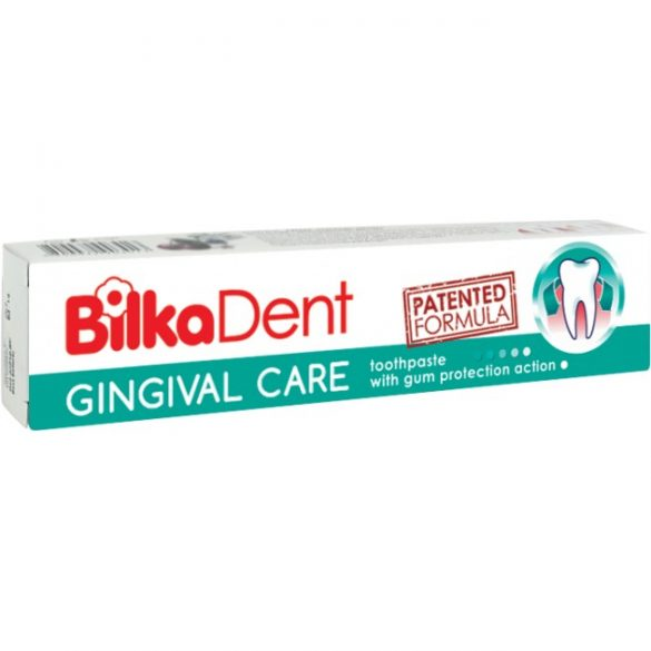 Gingival Care ínyvédő fogkrém 75ml fluormentes BilkaDent