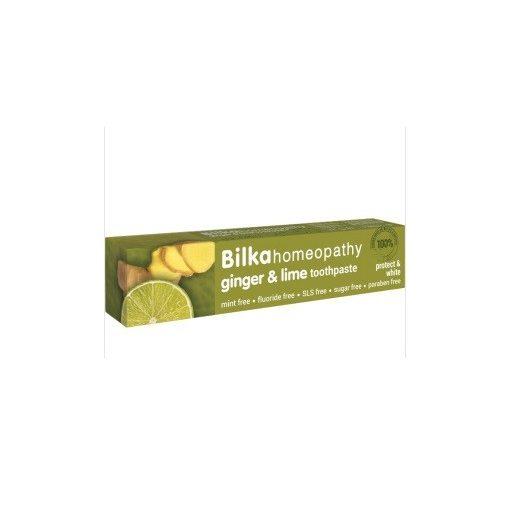 Homeopátiás fogkrém gyömbér&lime 75ml Bilka