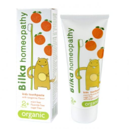 Homeopátiás 2+ gyermek foggél mandarin 50ml Bilka