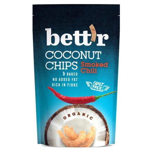 BIO kókusz chips chilis 70g Bett'r