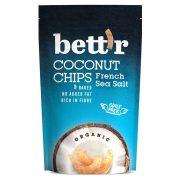 BIO kókusz chips francia tengeri sós 70g Bett'r