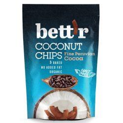 BIO kókusz chips kakaós 70g Bett'r