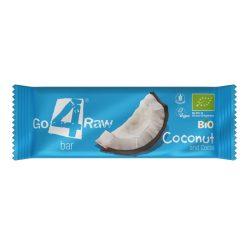 Kókuszos-kakaós nyers gyümölcsszelet 25g BIO Go4Raw