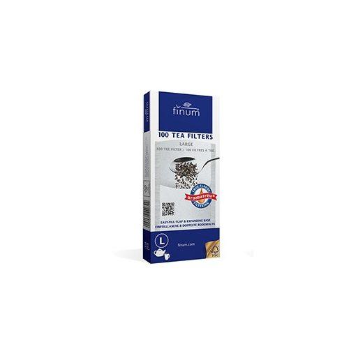 Papír teafilter 100db finum