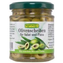 Szeletelt oliva salátára és pizzára 190g Rapunzel