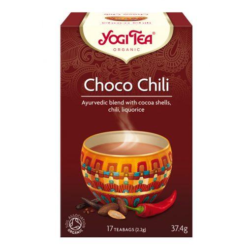 Csokis chilis tea azték fűszerezéssel Yogi