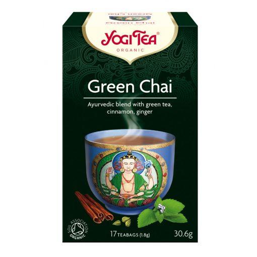 Zöld chai tea BIO 17x1,8g Yogi