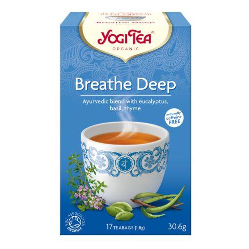 Mély lélegzet tea BIO 17x1,8g Yogi