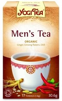 Férfi tea BIO 17x1,8g Yogi