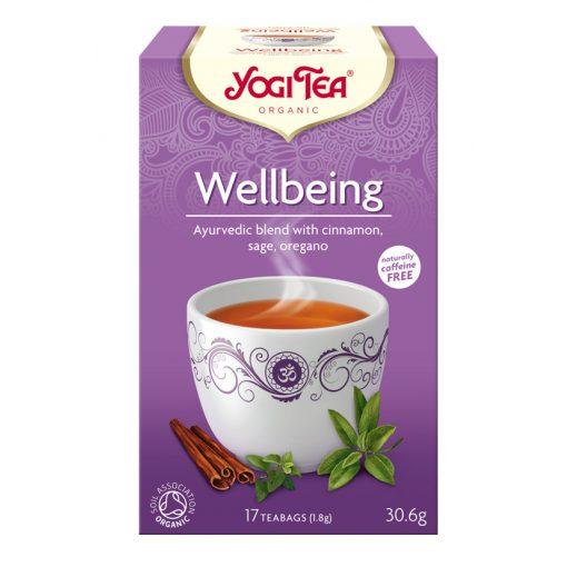 Jó közérzet BIO tea 17x1,8g Yogi