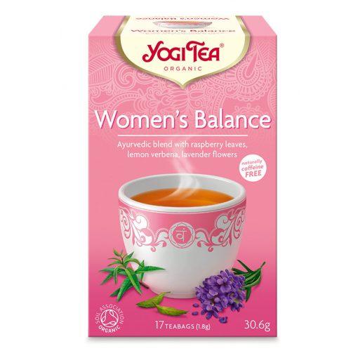 Női egyensúly BIO tea 17x1,8g Yogi