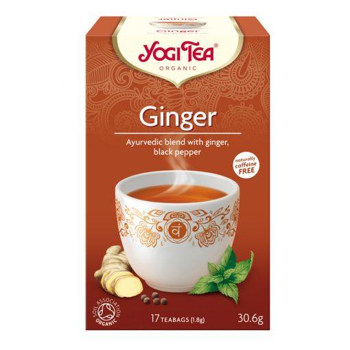 Gyömbér tea BIO 17x1,8g Yogi