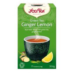 Zöld tea gyömbérrel, citrommal BIO Yogi