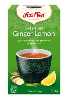 Zöld tea gyömbérrel, citrommal BIO 17x1,8g Yogi