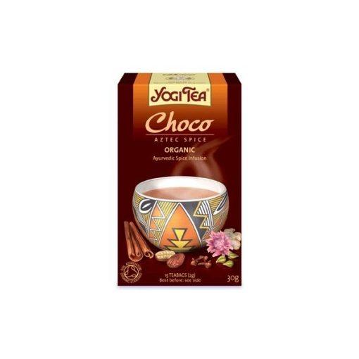 Csokoládés tea azték fűszerezéssel Yogi