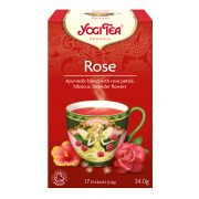 Rózsa tea BIO 17x2g Yogi