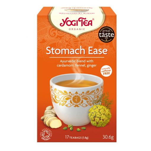 Könnyebbség a gyomornak BIO tea 17x1,8g Yogi