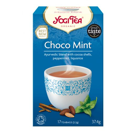Csokoládé-menta tea BIO 17x2,2g Yogi