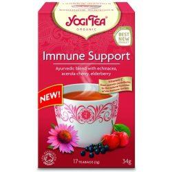 Immunerősítő tea BIO 17x2g Yogi