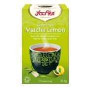 Zöld tea matcha-citrom BIO 17x1,8g Yogi