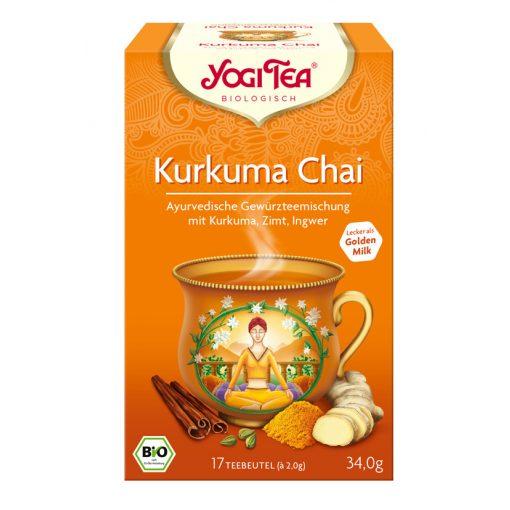 Kurkuma chai tea BIO 17x2g Yogi