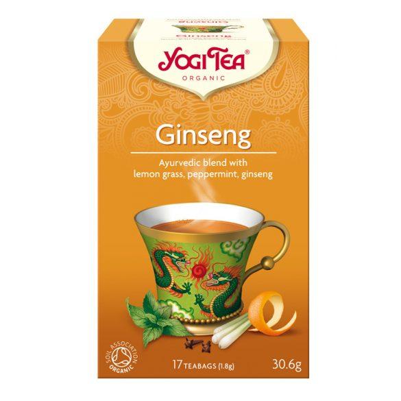 Ginseng tea BIO 17x1,8g Yogi