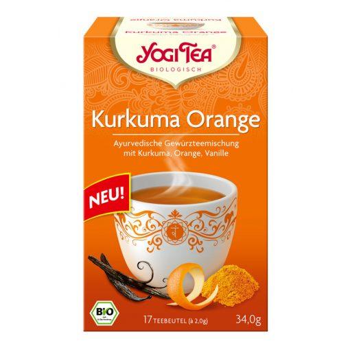 Kurkuma narancs tea BIO 17x2,0g Yogi