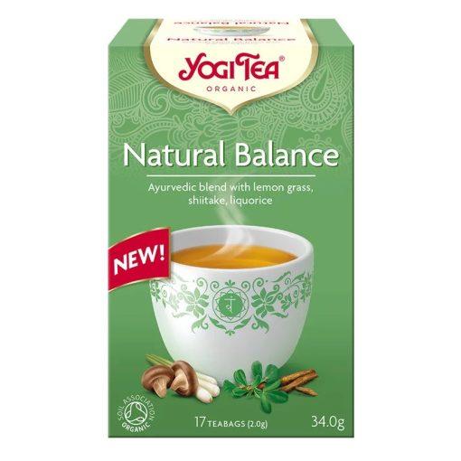 Természetes egyensúly BIO tea shiitake gombával 17x2g Yogi