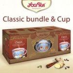 Klasszikus tea csészével BIO Yogi