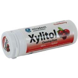 Xylitol rágógumi vörös áfonya 30db
