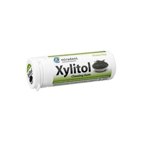 Xylitol rágógumi zöld tea 30db