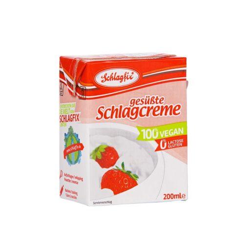 Vegan habkrém 15%, édesített 200ml Schlagfix