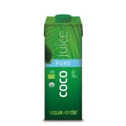 Kókusz juice natur 1l Aqua Verde