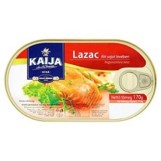 Lazac filé saját levében 170g Kaija