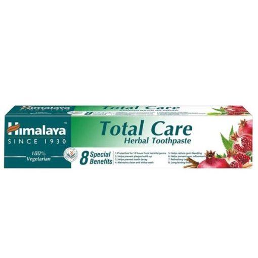Total Care  gyógynövényes fogkrém 75ml teljes körű védelmet biztosít Himalaya