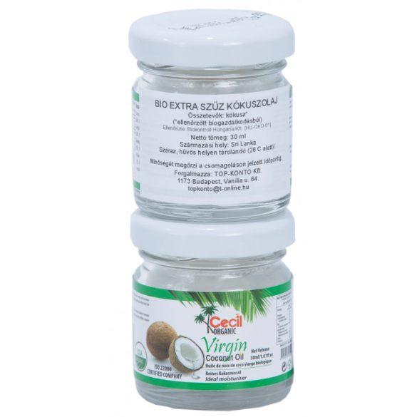Extra szűz kókuszolaj BIO 30ml Cecil