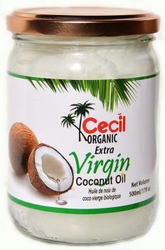 Extra szűz kókuszolaj BIO 500ml Cecil