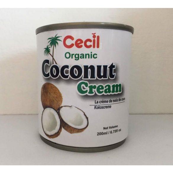 Kókuszkrém BIO 200ml Cecil