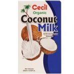 Kókusztej BIO 250ml Cecil