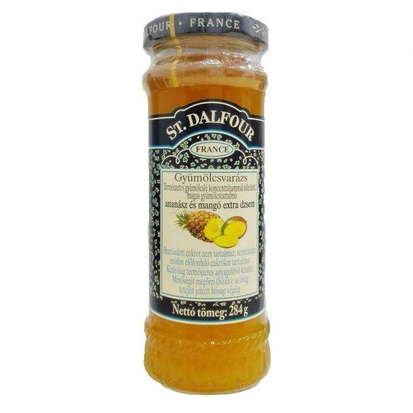 Ananász és mangó dzsem 284g St. Dalfour