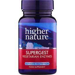 Supergest növényi enzim kapszula 30db Higher Nature
