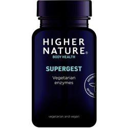 Supergest növényi enzim kapszula 90db Higher Nature